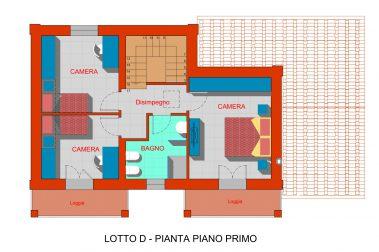 Lotto D - 2 Piano primo